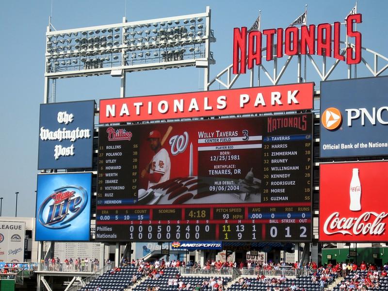 Final score: Phillies 11, Nationals 1