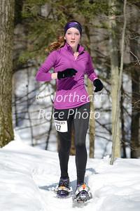 Curly's Record Run snowshoe race