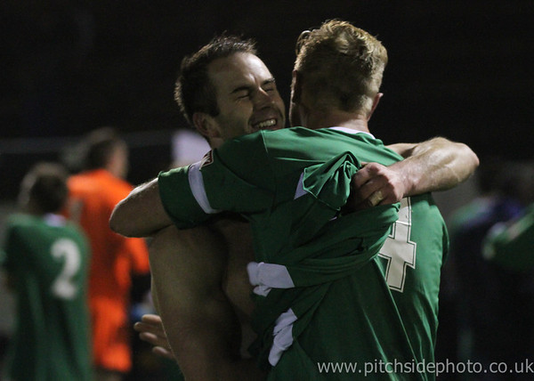 Gosport Borough 1 Slough Town 2 - FA Cup - 23/10/12