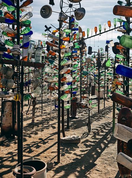 Route 66 - Bottle Tree Ranch, Mojave Desert