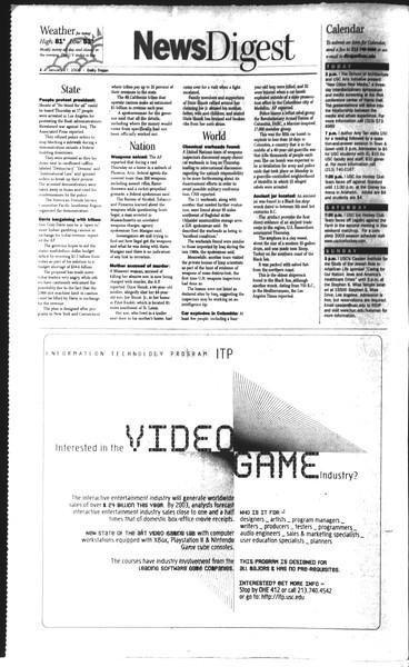 Daily Trojan, Vol. 148, No. 4, January 17, 2003