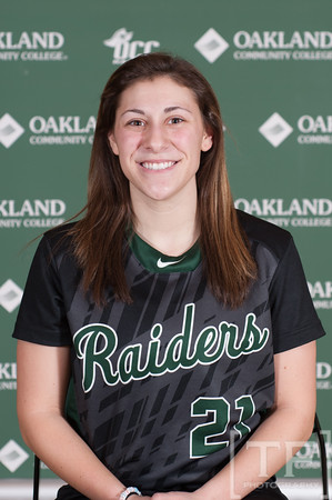 Oakland CC Portrait Day:  Softball 2015/2016