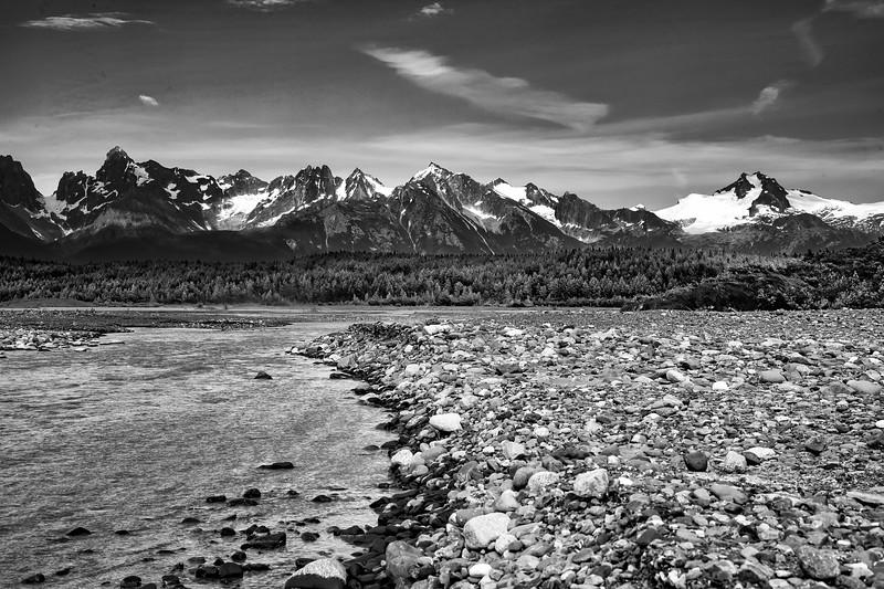 View from Davidson Glacier