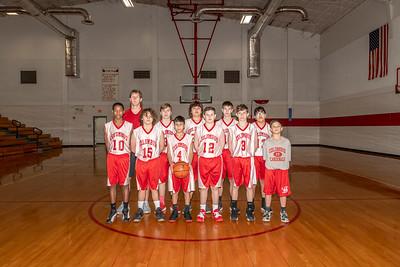 2018-2019 Junior High Basketball Team Photos