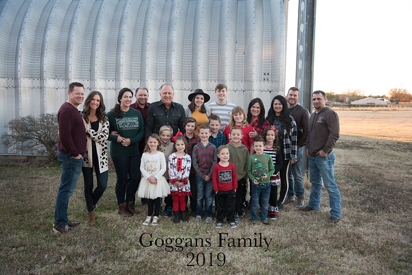 Goggans Family Christmas 2019
