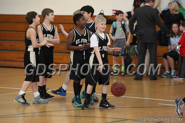 7th Grade Boys vs. St. Pius 01-14-2014