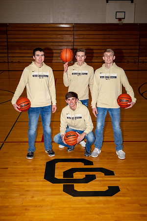 CCHS Senior Basketball Guys Class of 2019
