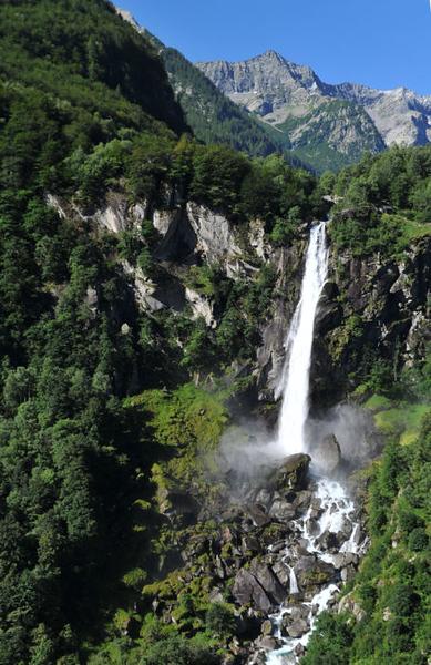 Foroglio (Val Bavona): cascata