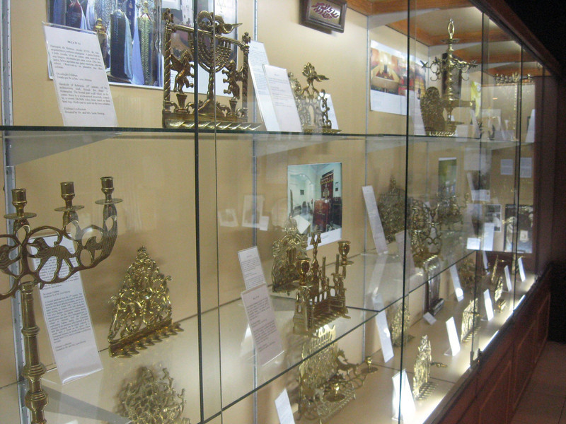 "The Menorah (""chanukiah"") collection."