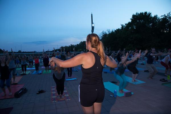 09-21-17 Yoga on the Bridge
