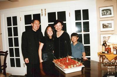 11-4-1995 Pam Shimizu 50th Birthday @ Corzines, Brentwood, CA