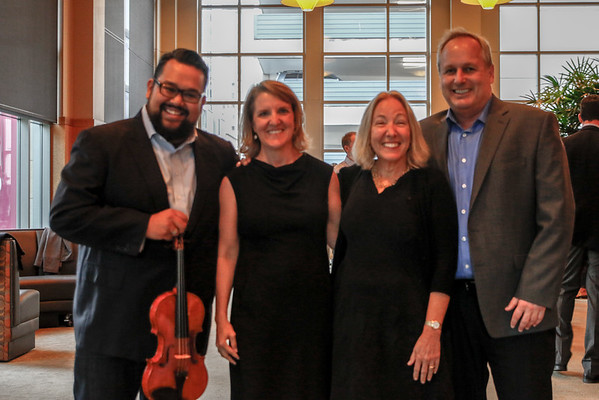 2016 Key to Hope Benaroya Hall Meet and Greet with Vijay Gupta
