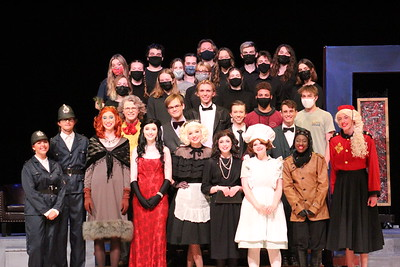 "Valparaiso High School Play ""Clue"" 2021"