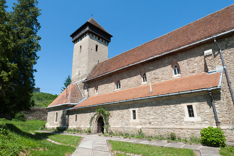 Calnic Fortified Church in Transylvannia, Romania
