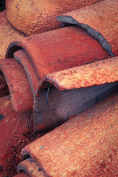 Roof Tiles 1, Campbell, California, 2010