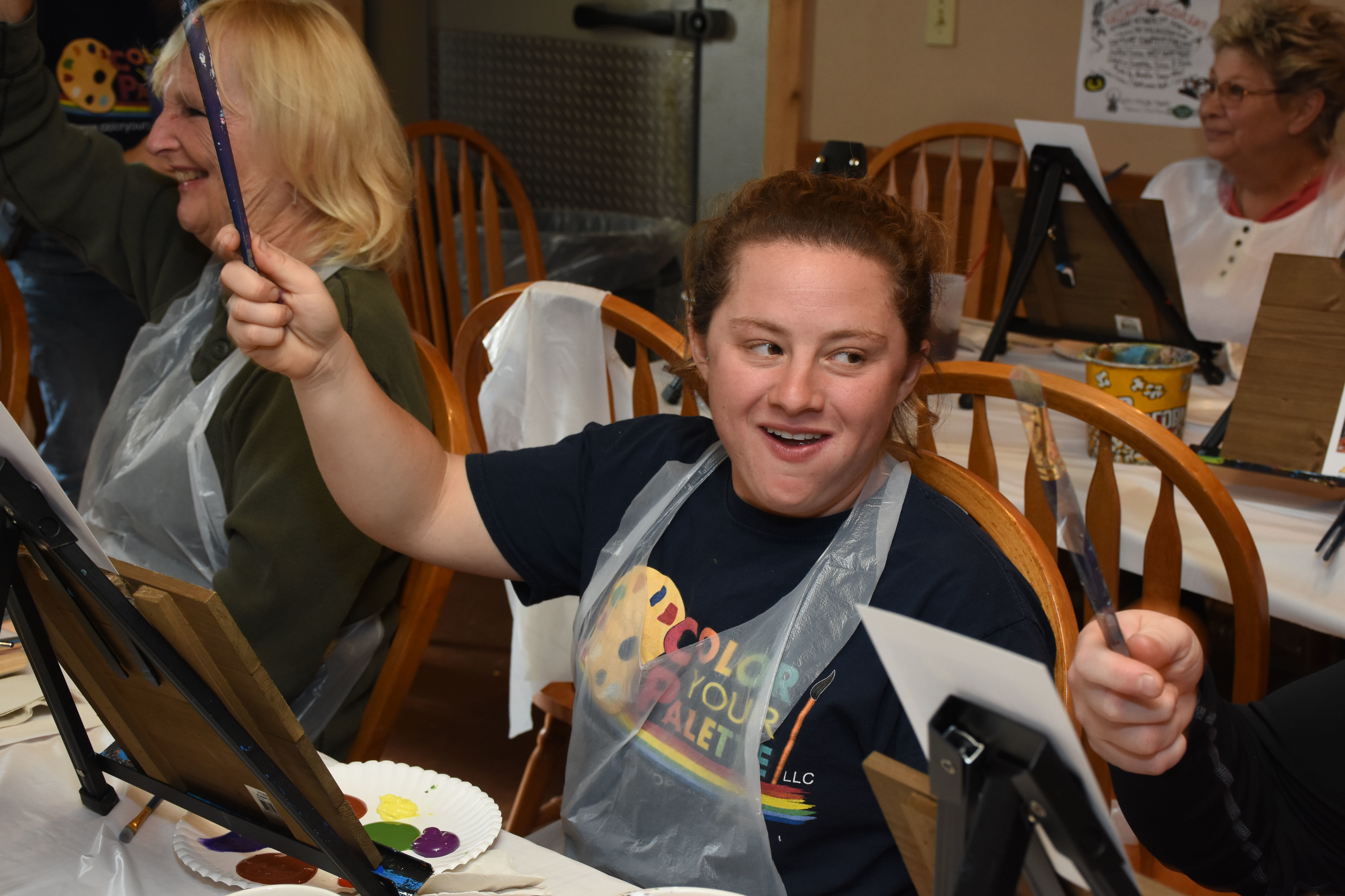 Eagles Wood Painting Party 10-14-18