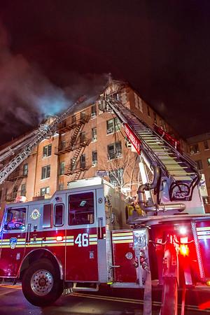 Manhattan NY 4th alarm 74 Post Ave. 01-05-21