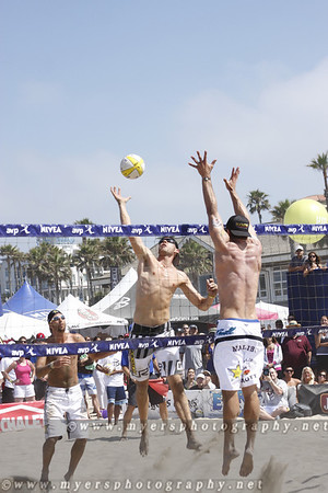 Huntington Beach, June 6th 2010 California Volleyball Tournament