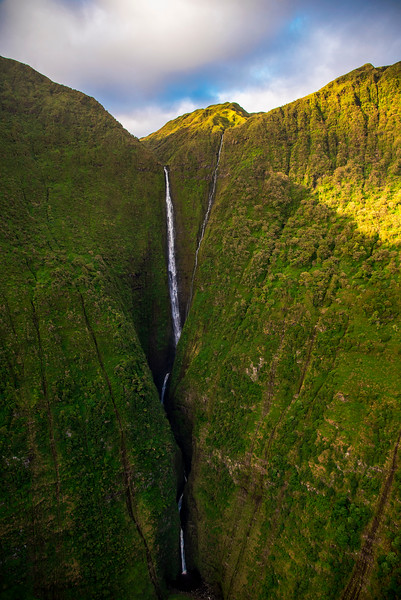 Honokohau Falls, Maui, Hawaii
