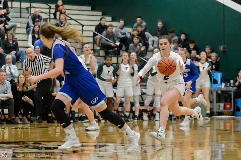 THS Girls Varsity BB vs Grants Pass - Round 2 Playoffs