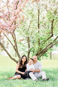 La Family - Cherry Blossom Mini Session 2020