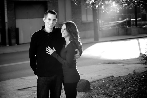 Nick and Amy Engagement Portraits