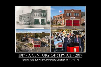 100 Year Anniversary of Engine 12 (Bridgeport, CT) 11/16/17