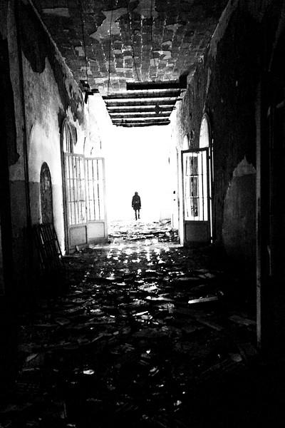 padiglione Ferri - corridoi piano terra