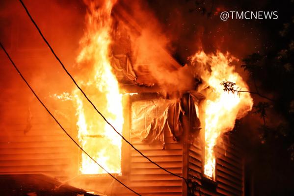 Clark Street House Fire - Elyria