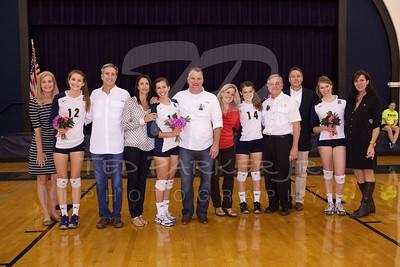 2012-10-04 Volleyball Senior Night