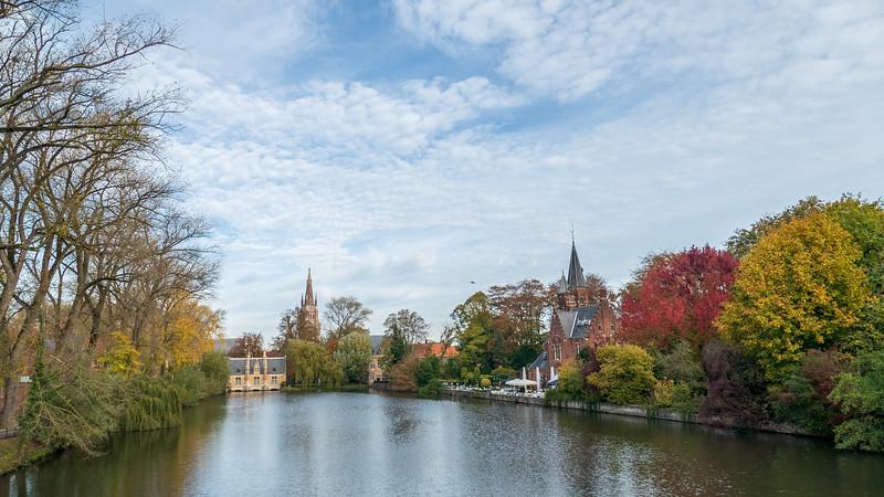 Brugge Minnewater.