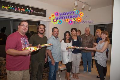 Catherine's Birthday Party Sept 2015
