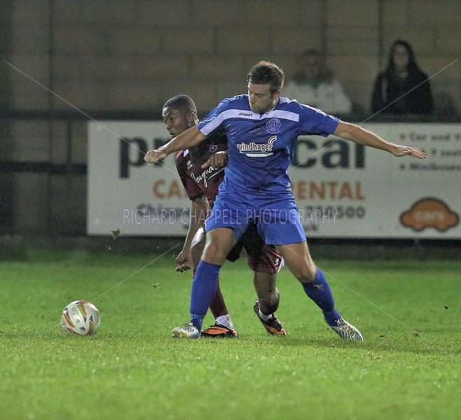 CHIPPENHAM TOWN V PAULTON ROVERS MATCH PICTURES  14th OCTOBER 2014