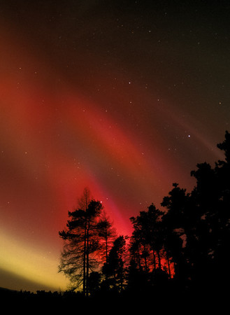 Aurora in Scotland