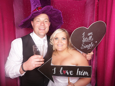 Samantha & Bradley's Wedding Photobooth Photos
