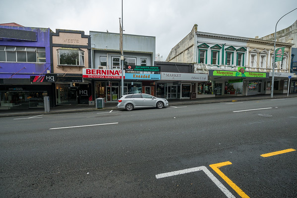 New Plymouth and surrounding