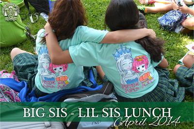 Big Sis-Lil Sis Lunch