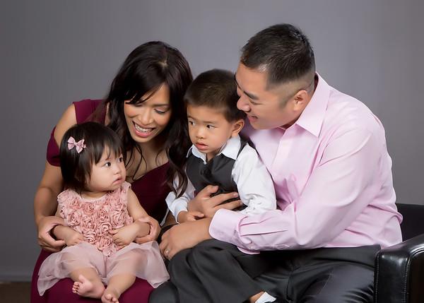 Tony & Lina Family (11-2017)