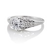 .84ctw Transitional Cut Diamond Filigree Solitaire 1