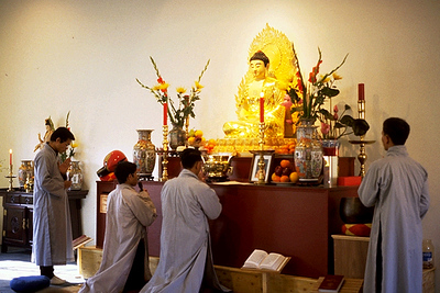 Chanting the Sutras