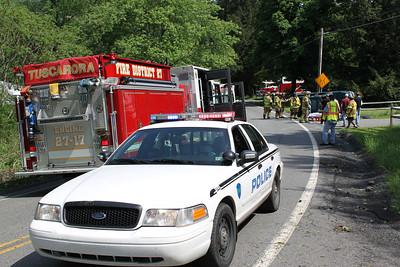 Vehicle Flips, Tuscarora Mountain Drive, Ryan Township (5-27-2011)