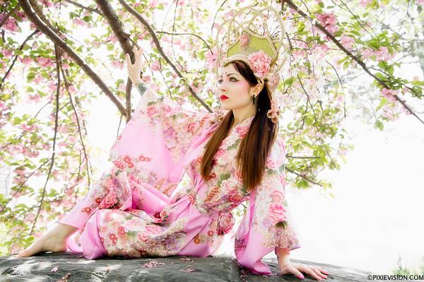 Anastassiya's Sakura Matsuri Shoot
