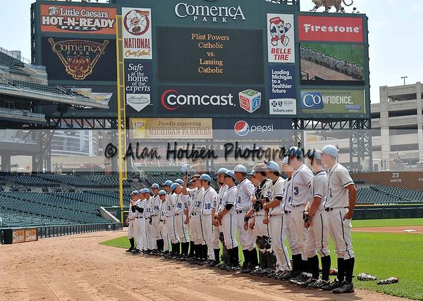 Varsity Baseball - Flint Powers vs Lansing Catholic - May 19