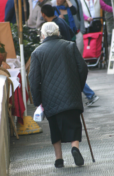 "Vernazza resident ""strolling"""
