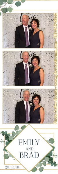 2019-09-14 White Eagle Golf Course Wedding Photo Booth