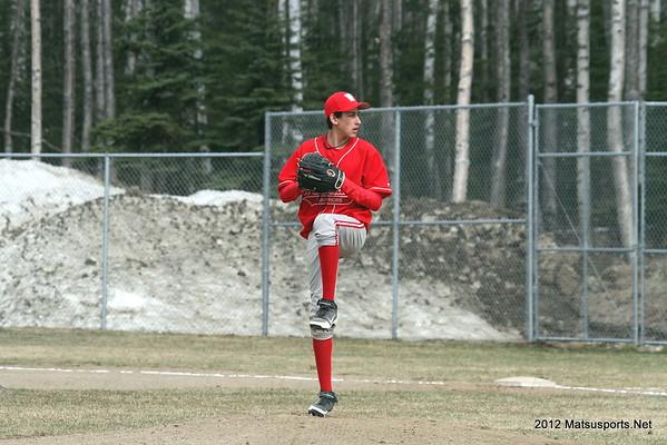 Wasilla Vs. Lathrop JV Baseball 5-5-2012