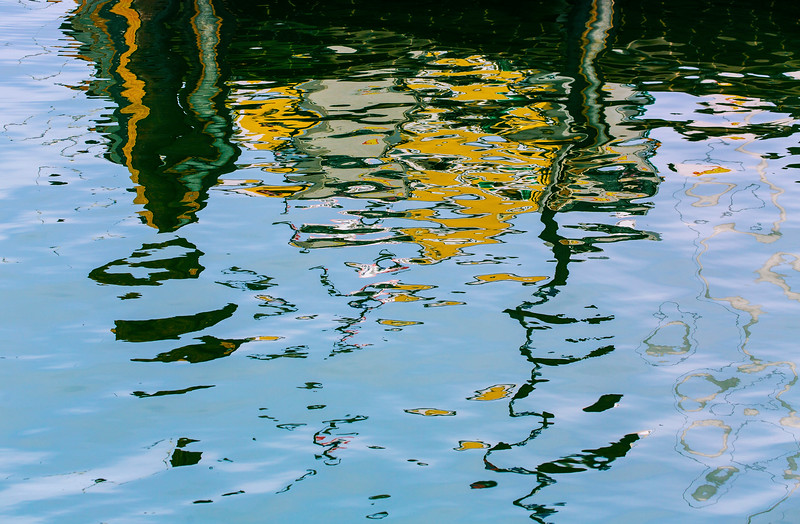 More reflections in water