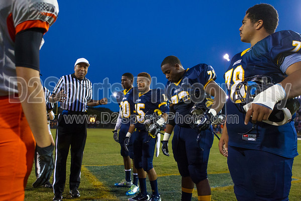 Mt Tabor Spartans vs N Davidson Black Knights Varsity Football 9/27/2013