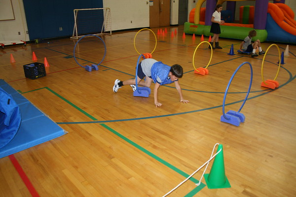 MS Obstacle course