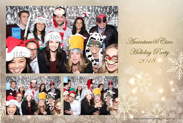 Accenture @ Cisco Holiday Party 12.12.18